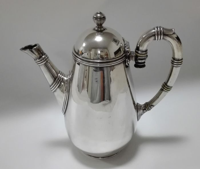 Silver plated tea pot - Christofle, France