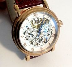 Constantin Durmont automatic skeleton – men's wristwatch – 2016 – never worn