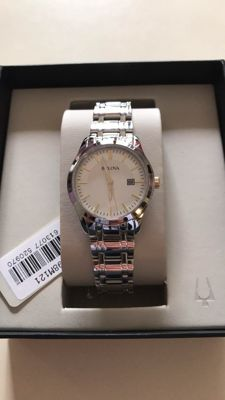 Bulova - Silver collection - Exclusive women's watch.