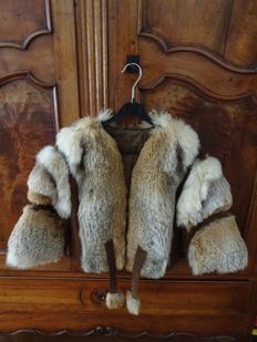 Fur coat - label missing