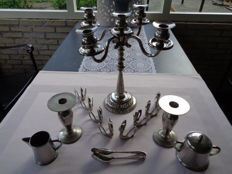 Lot silver plated