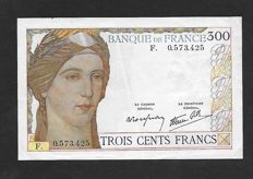 France - 300 Francs Type 1938 - Fayette 29/1