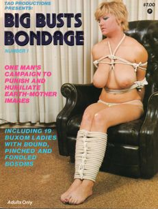 "Thematic; Lot with 10 American ""big boobs in bondage"" magazines-1978/1992"