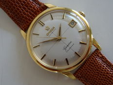 Omega Geneve Calendar Croshair deal vintage men's wristwatch 1959 OVERHAULED