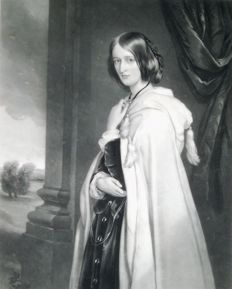 Thomas L. Atkinson (1817-1890) naar Francis Grant (1803-1878) - Ursula Lucy Grace Bridgeman, Lady Londesborough - 1860