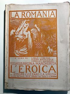 L'Eroica Issues from 48 to 57 year 1916 - 1917 from the collection Fondo Ettore Cozzani