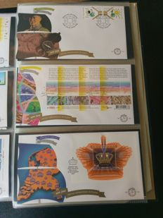 The Netherlands 1952/2007 - Colleciton FDCs in 7 various albums.
