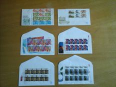 The Netherlands 1965/1997 – Selection of First Day Covers, including 6 blocks and sheets on small cover.