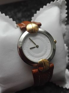 Longines Rodolphe – 18 kt gold plated steel – casing 33 mm – women's watch – year 2010
