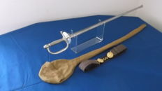 NCO sword model 1887 with scabbard - cover - belt