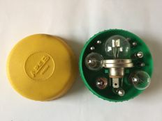 Original Areb Modena spare bulb and fuse holder for a classic Ferrari 250/275/328/365, Lamborghini or Maserati tool kit