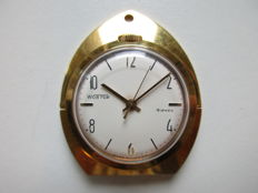 Wostock Russian – gold plated pocket watch – 1950s
