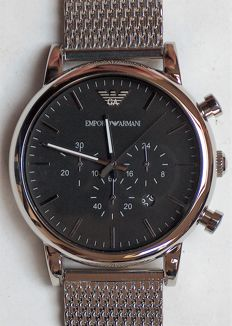 Emporio Armani 1808 chronograph - Men's wristwatch
