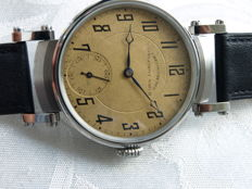 19. Corgemont men's marriage wristwatch between 1910-1915