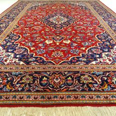 """Kashan - 352 x 247 cm - """"Traditional Persian XL carpet in beautiful condition"""""""