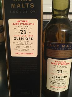 Glen Ord 1974 23 years old - Rare Malts