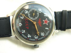 31. Molnija military marriage wristwatch between 1950-55