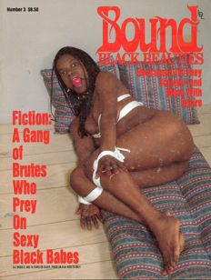 "Thematic; Lot with 9 American ""bound black beauties"" magazines-1978/1996"