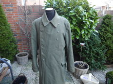 Very fine German Officer's overcoat, Eastern front 1943-1944 WWII.
