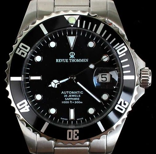 Revue Thommen -  XL Diver Automatic - Swiss ETA - NO RESERVE!! - Ref. No: 17571.2137 - from November 2015 - Herren - 2011-heute