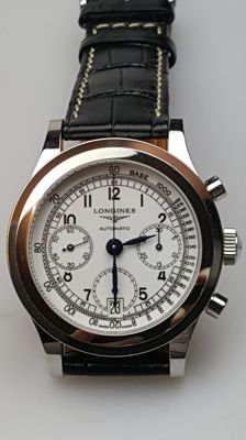 Longines Heritage 1942 Chronograph – Wristwatch – Men's – Analogue – New Old Stock