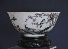 An enamelled  bowl - China - 19th century