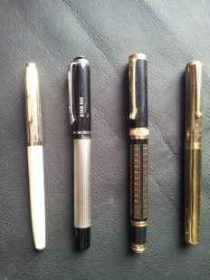 Lot of 4 pens from the 1960s/70s
