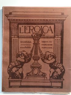 L'Eroica Issue no. 3 September 1911 of the collection Fondo Ettore Cozzani