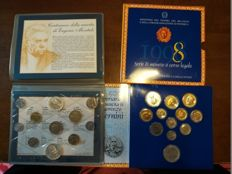 Italy - Divisional series 1998 and 1996 with silver