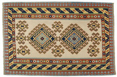 3942 Kilim Authentic Shiraz Persian rug - Iran - Original Cicim - 300 x 200 cm - With certificate of authenticity signed by an official expert (Galleria Farah 1970)