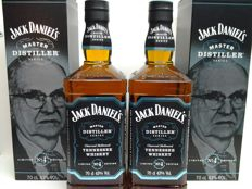 2 bottles Limited Edition Jack Daniel's. Master distiller n° 4.
