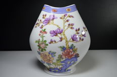 Schwarzenhammer Germany - White vase with flower design