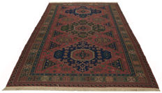 3902 – authentic rug – original SUMAK Sumakh Con – with certificate of authenticity from official expert – dimensions 2337 x 170 cm – GalleriaFarah1970