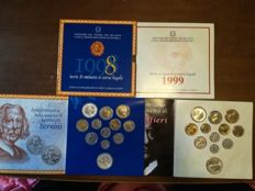 Italy – 1999 and 1998 divisional series with silver