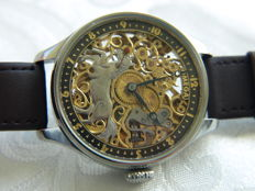 28. Omega Skeleton Men's marriage watch - 1929-1935