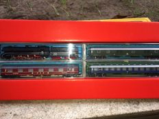 Rivarossi N - complete set German train BR10 and carriage of DB