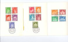 Suisse 1960/1974 – FDC PTT, FDC standard, FDC complete series 10-05-1960 Stamps Pro Juventute, Pro Patria