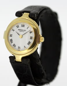 Raymond Weil - Gold plate ladies quartz wristwatch, 1985