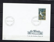 French Australian Territories 1956-1996 - Selection of stamps and envelopes.
