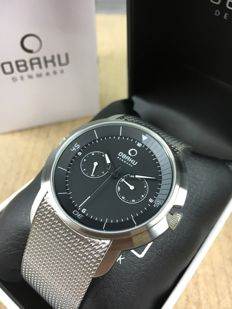 Obaku Silver Milanese, ref. V141GCBMC - Men's watch