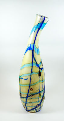 Rossi Matteo (Murano) - vase from the Fili series (unique piece, 52 cm)