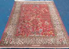 Beautiful hand-knotted Persian Tabriz, 203 x 143 cm, no reserve, bidding starts from €1