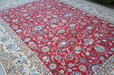 Persian carpet, hand-knotted, approx. 300 cm x 400 cm, around 1960 from Iran