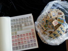 Japan 1872/2002 – Collection on 48 sheet album + bah with stamp lot