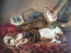 J.W. Van Trirum (1924-2011) - Kittens