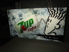Reclame lamp - 7 UP  Fido Dido - 1985