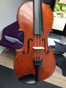 Authentic D. Salzard French violin, ca 1850
