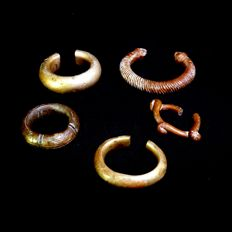 African bracelets - bronze - first half of the 20th century