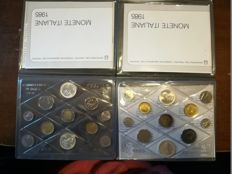 Italy – 1985 and 1985 divisional series with silver