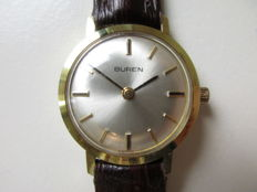 Buren Swiss - Gold-plated women's wristwatch - 1960s